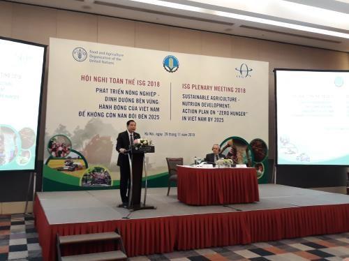 """Lancement du programme d'action national """"Faim Zéro"""" d'ici 2025"""