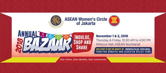 Ouverture du Bazar 2018 du Cercle des femmes de l