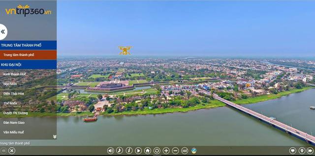 Découvrir Huê avec la technologie photo à 360 degrés