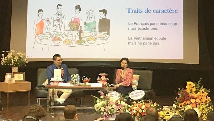 Lancement du livre «Élégants comme les Français - Accueillants comme les Vietnamiens»