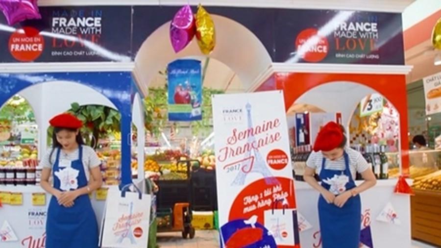 Les Semaines françaises sont de retour dans les supermarchés vietnamiens