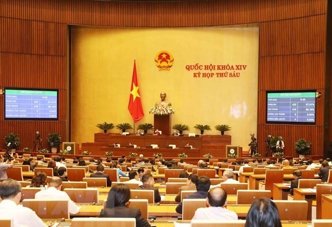 Le 19 novembre, les députés de l'Assemblée nationale votent cinq lois