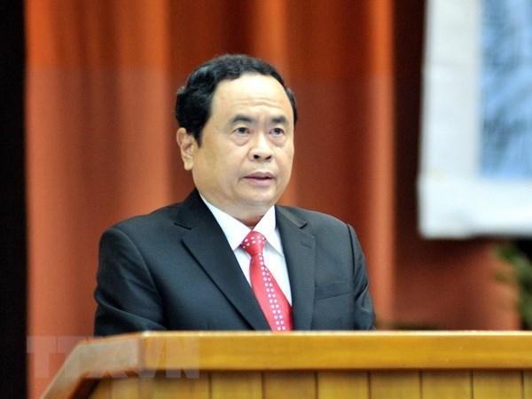 Le président du CC du FPV félicite les caodaïstes