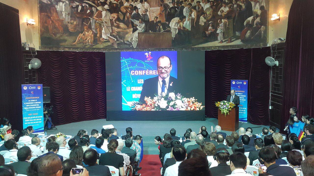 La France et le Vietnam misent sur la résilience au changement climatique