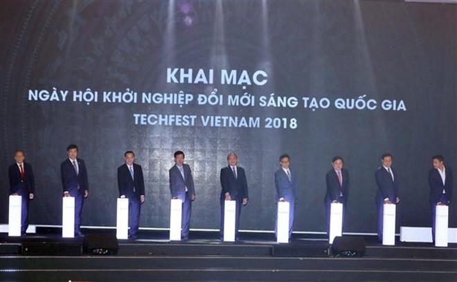 Start-up: ouverture de Techfest Vietnam 2018