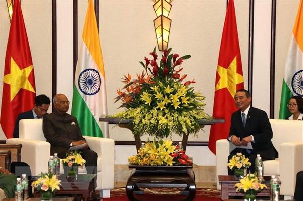 Le président indien Ram Nath Kovind se rend à Dà Nang