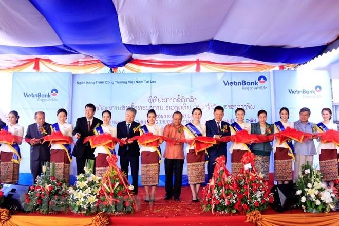 VientinBank Laos ouvre une succursale à Vientiane