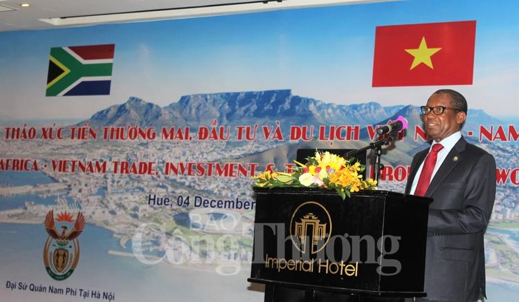 Vietnam-Afrique du Sud: objectif de 2 milliards de dollars d