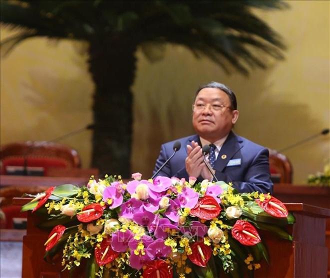 Ouverture du 7e Congrès national de l'Association des agriculteurs du Vietnam