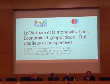 Un colloque sur le Vietnam à Paris