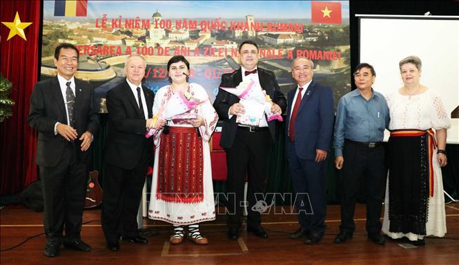 Le 100ème anniversaire de la Roumanie célébré à HCM-Ville