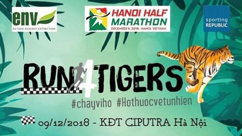 """Run for Tigers"" 2018 attire plus de 750 coureurs"