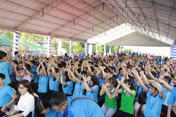 Le festival international des volontaires à Ho Chi Minh-Ville