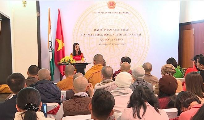 Rencontre de la communauté vietnamienne en Inde et au Népal
