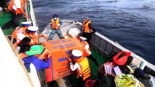 Des milliers de cadeaux offerts aux soldats basés sur l'archipel de Truong Sa