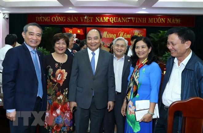 Le PM rencontre des responsables de la région centrale