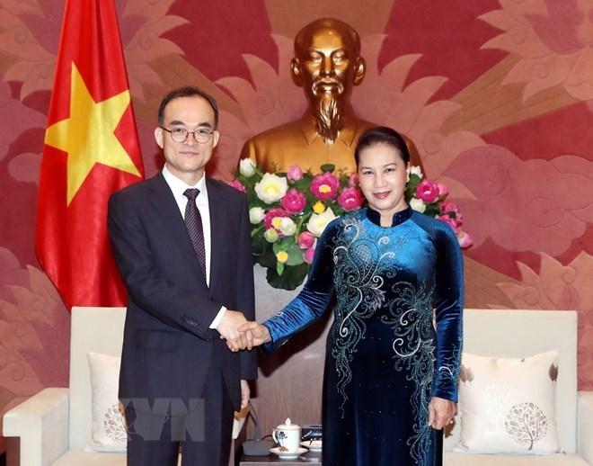 La présidente de l'AN plaide pour une coopération avec le procureur suprême de la R. de Corée