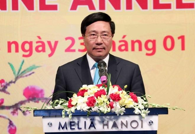 Des diplomates étrangers contribuent au succès du Vietnam
