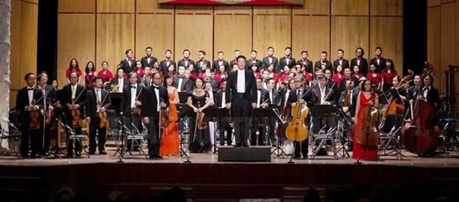 Concert Rock Symphonie célèbre la fondation de l'Opéra de Ho Chi Minh-Ville