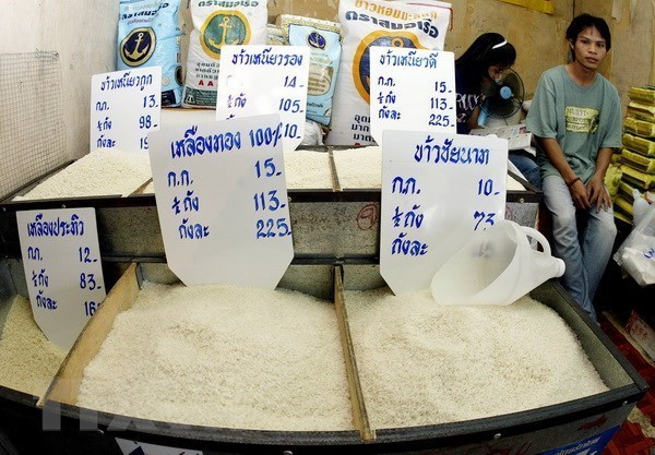 La Thaïlande exporte plus de 11 millions de tonnes de riz en 2018