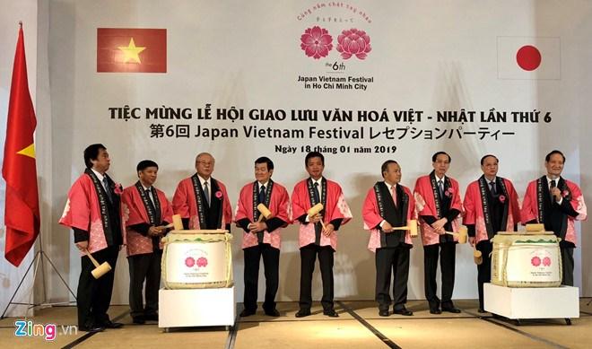Ouverture du 6e Festival Japon-Vietnam à Ho Chi Minh-Ville