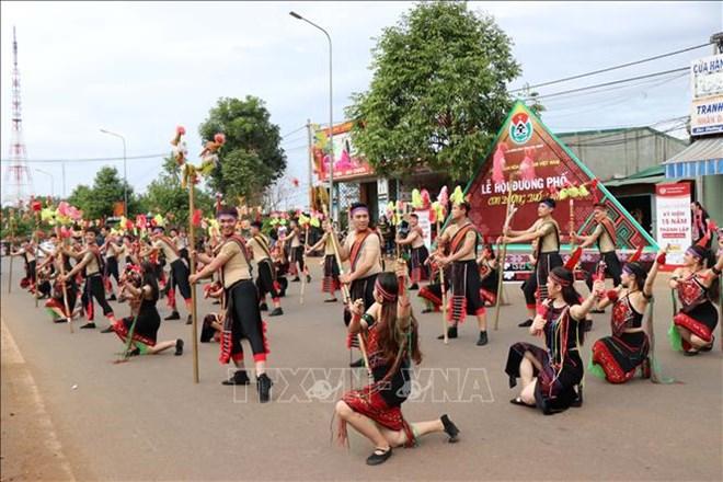 """Dak Nong: Le carnaval """"La route de la brocatelle"""" attire 2.000 artisans et artistes"""