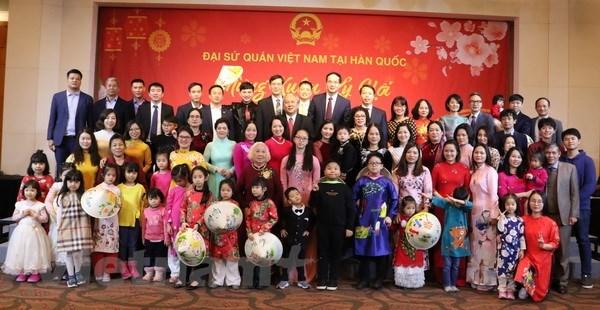 Célébration du Têt du Cochon en République de Corée et au Cambodge