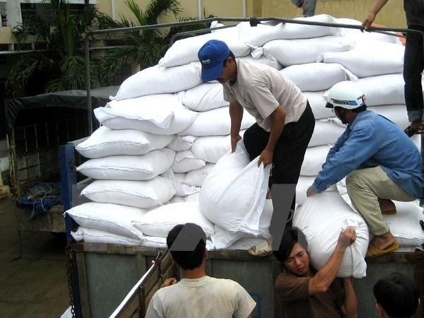 Têt du Cochon: Assistance de plus de 700 tonnes de riz en faveur de 3 localités