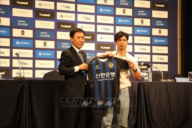 L'attaquant vietnamien Cong Phuong recruté par le club sud-coréen Incheon United