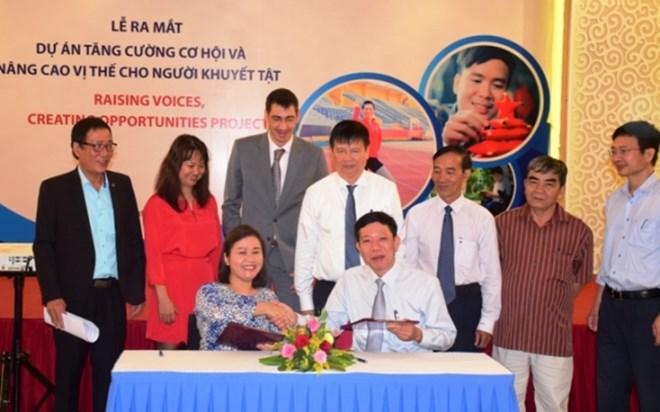 Thua Thien-Huê: une aide américaine pour l'amélioration de la situation des handicapés