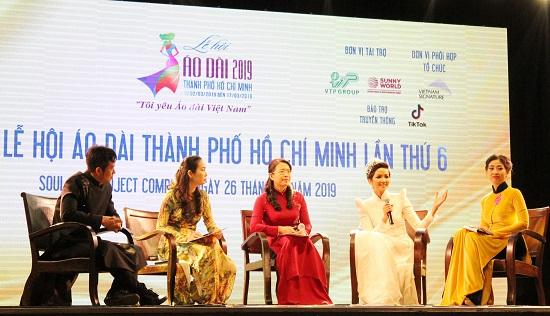 Rendez-vous à la fête de l'Ao dai d'Hô Chi Minh-Ville 2019
