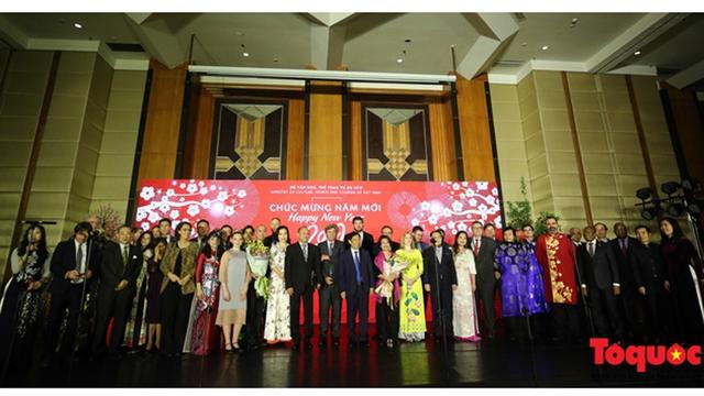 Le Vietnam s'est engagé à promouvoir la coopération internationale dans la culture, le sport et le tourisme