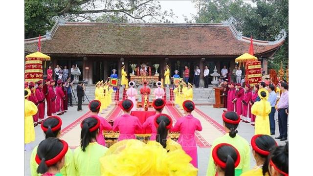 Phu Tho rend hommage à Âu Co - la mère de la nation vietnamienne