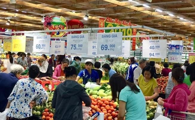 Têt du Cochon: près de 20.000 milliards de dongs de ventes au détail à HCM-V