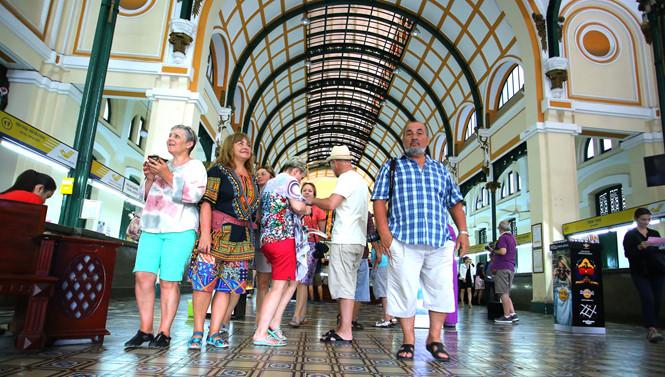 Têt: Forte hausse du nombre de touristes étrangers à Ho Chi Minh-Ville
