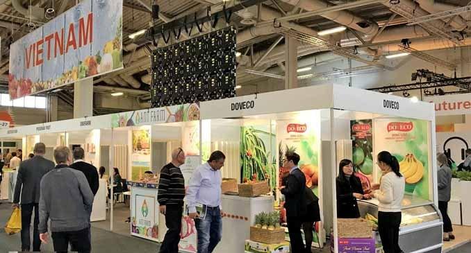 Le Vietnam à la foire Fruit Logistica 2019 à Berlin