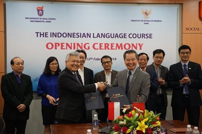 La langue indonésienne sera enseignée à l