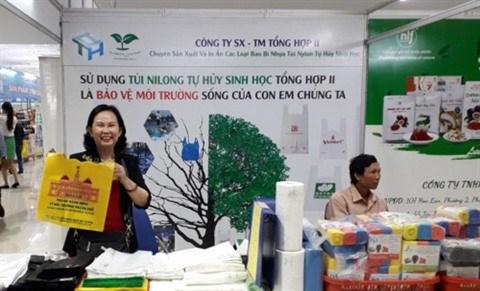 Des sacs en bioplastique vietnamiens à l'assaut du marché mondial