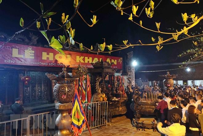 Nam Dinh: fête de l