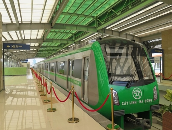 Le chemin de fer urbain Cat Linh-Hà Dông sera officiellement mis en service en avril