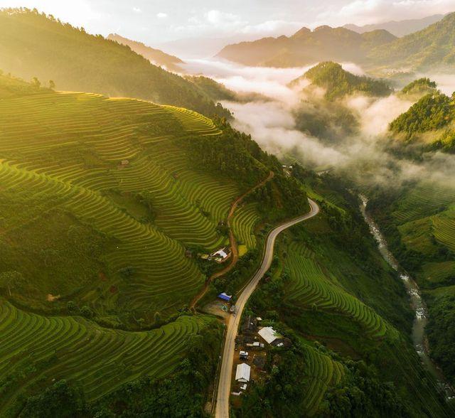 Une photo de Mu Cang Chai à l'honneur dans le National Geographic