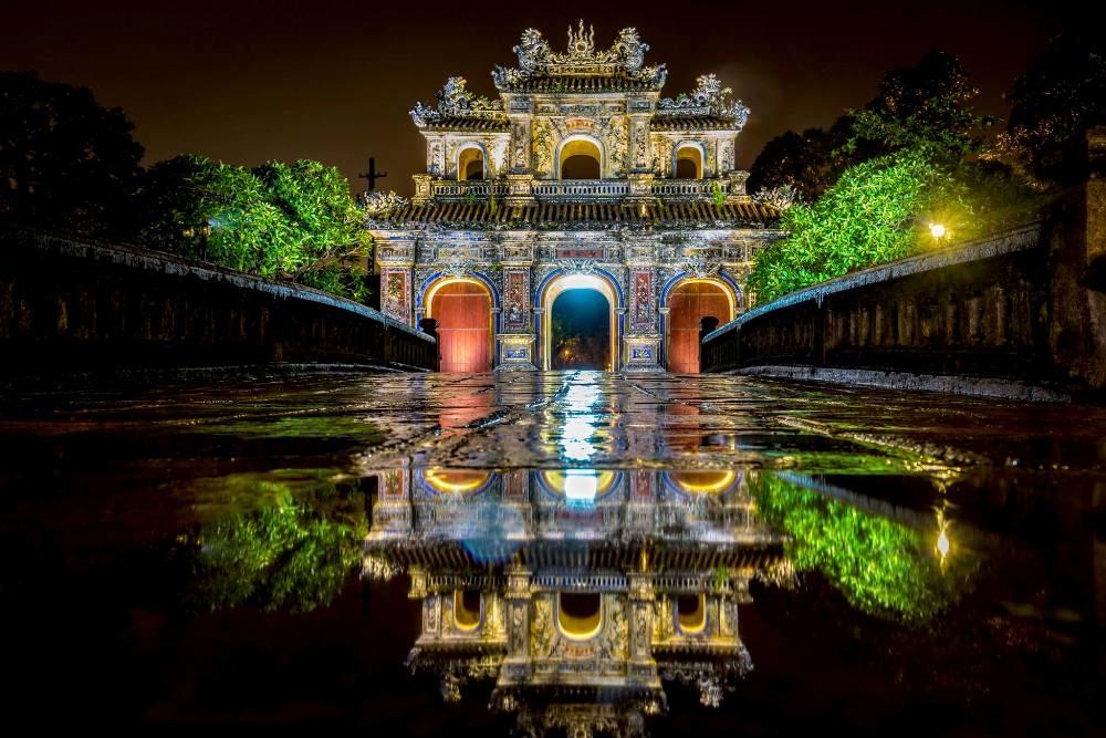Moments de paix sur la terre de Huê