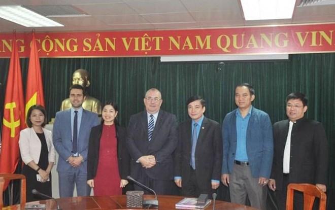 Renforcement de la coopération syndicale Vietnam-Royaume de Belgique