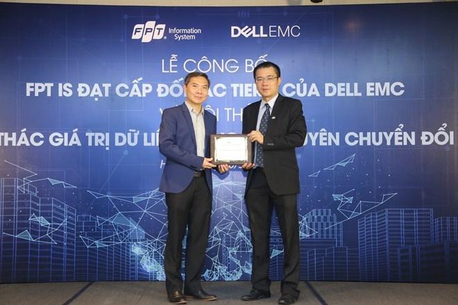 La société du système d'information FPT devient le partenaire de plus haut niveau de Dell EMC