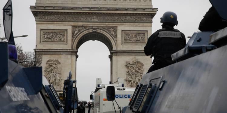 """""""Gilets jaunes"""": manifestations interdites samedi sur les Champs-Élysées et ses abords"""