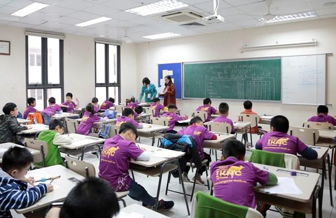 24.000 élèves vietnamiens participent au concours international de mathématiques Kangourou