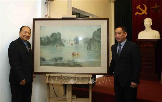 Le Vietnam aide le Laos à restaurer des œuvres d