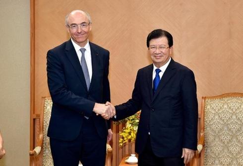 Les entreprises françaises exhortées à élargir leurs activités au Vietnam