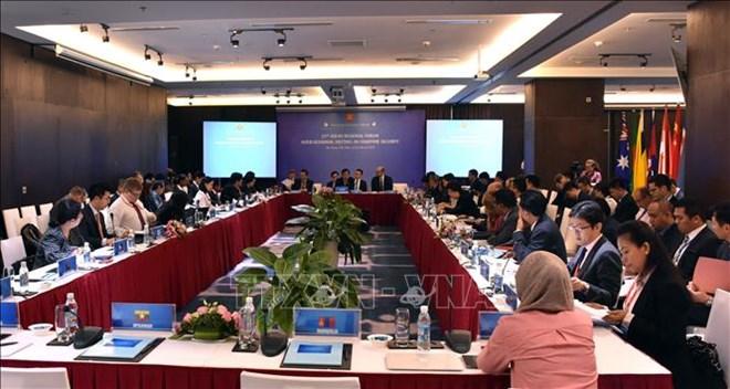 ARF: la 11e réunion du Groupe de travail de mi-mandat sur la sécurité maritime à Da Nang