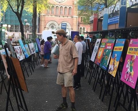 Exposition sur la littérature belge à Hô Chi Minh-Ville